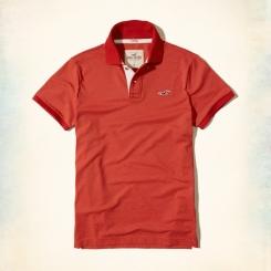 Polo Hollister màu đỏ