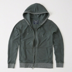 Áo khoác Abercrombie xanh chai