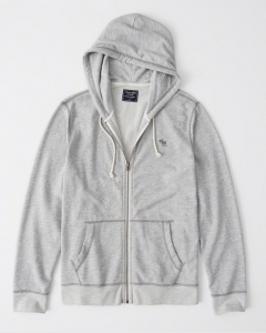 Áo Hoodies Abercrombie màu xám