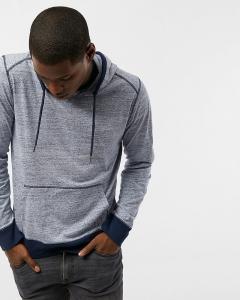 Áo Hoodies Express màu xanh