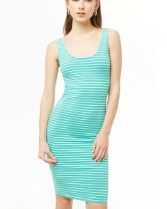 Váy thun F21 body xanh