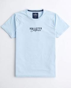 Áo thun Hollister xanh nhạt