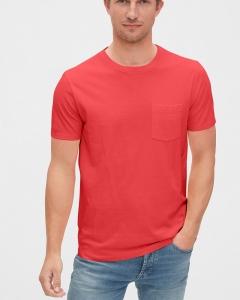 Áo thun Gap Organic đỏ cam