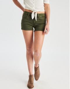Short nữ American Eagle màu rêu