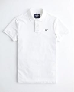 Áo Polo Hollister màu trắng