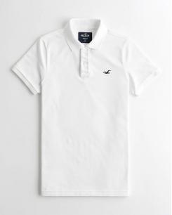 Áo thun nam Polo trắng
