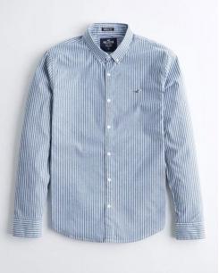 Hollister Stretch Oxford Shirt