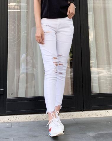 Jean nữ Express màu trắng