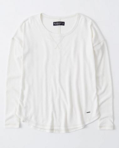Áo len nữ màu trắng kem