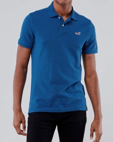 Polo Hollister xanh dương